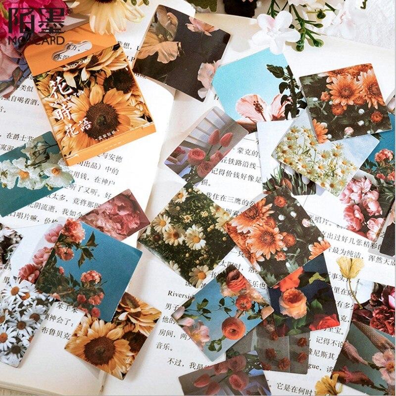 46-pz-scatola-adesivi-in-scatola-pianta-creativa-album-decorazione-stile-retro-polaroid-film-sole-fiore-45mm