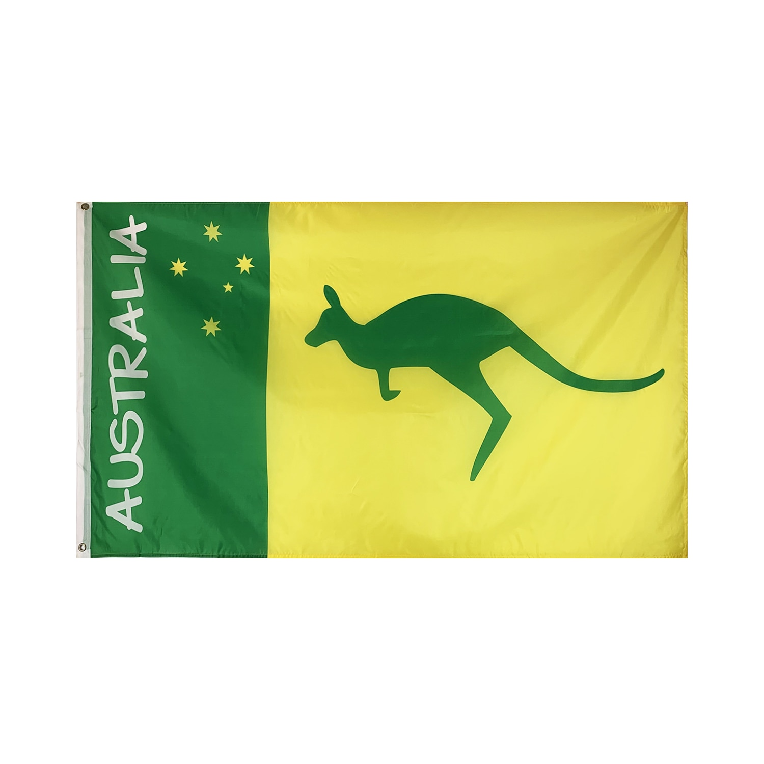 Flagnshow 90x150cm 3x5ft Australia Flags and Banners Australian National Symbol Boxing Kangaroo Flag for Rooms Decoration 201 countries flag national flag symbol fridge magnets combine order accept wholesale business souvenirs