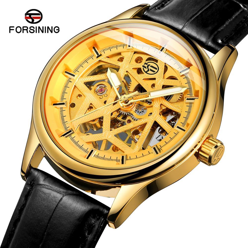 Marca de Luxo Masculino à Prova Novos Relógios Masculinos Relógio Mecânico Masculino Calendário Bussiness Couro Dwaterproof Água Reloj Hombre 2021