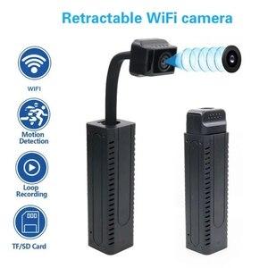 P2P Remote Control HD Micro Camera Wifi Surveillance IP Mini Camera HD 1080P Mini Camera Wifi Cameras Wifi Camcorde Security Cam
