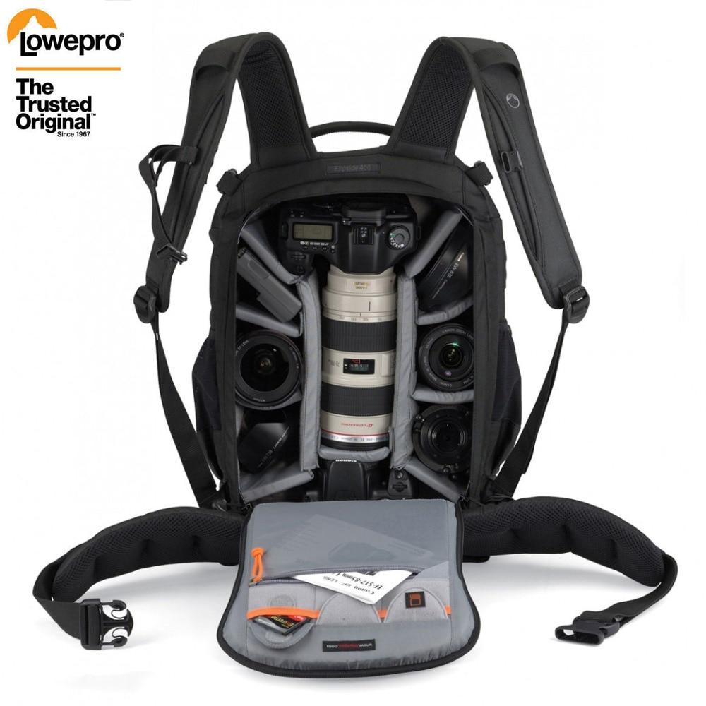 حقيقية Lowepro الجانب الثاني 400 AW F400 II كاميرا صورة حقيبة الظهر الرقمية SLR + جميع الطقس غطاء بالجملة
