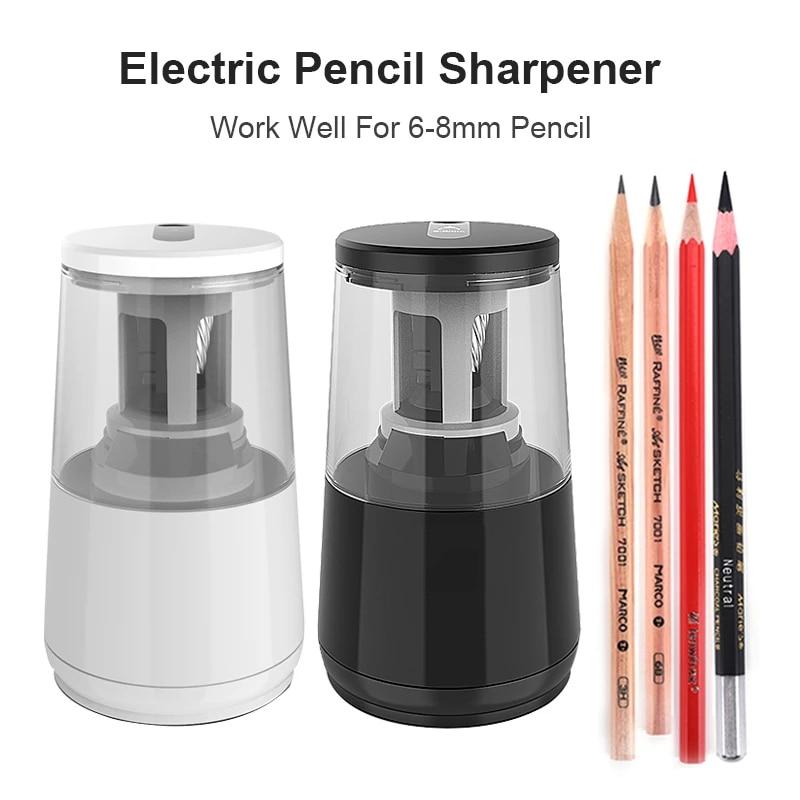 Электрическая точилка для карандашей Tenwin, сверхмощная, usb, механическая, для девочек, для школы, Канцтовары, офиса и Канцтовары