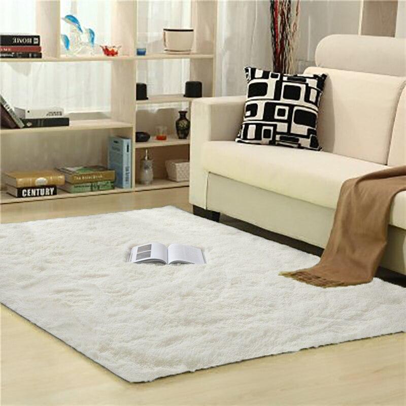 الأبيض السجاد التعادل الصباغة أفخم لينة السجاد لغرفة المعيشة غرفة نوم المضادة للانزلاق الطابق ماتس غرفة نوم السجاد الزخرفية السجاد