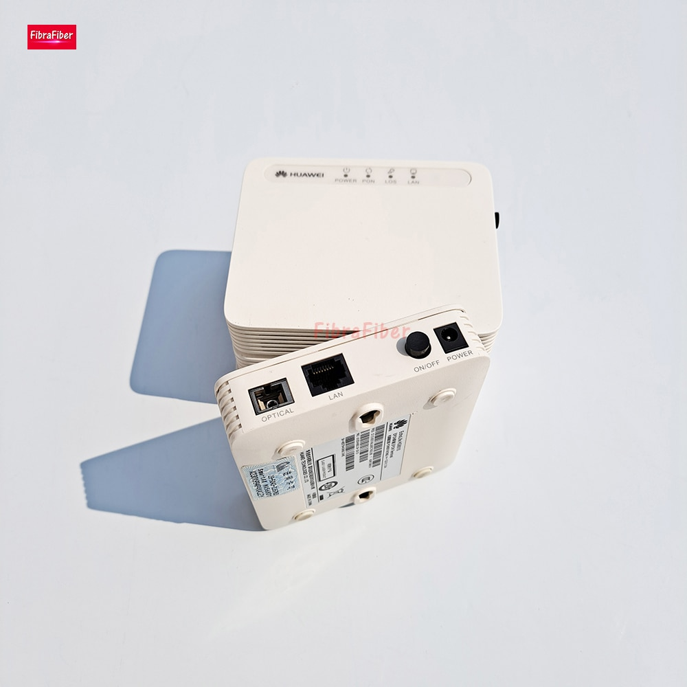 50pcs/Lot HG8010 1FE 1GE GPON EPON Terminal ONU ont FTTH fiberhome Secondhand modem English Firmware Support Huawei OLT