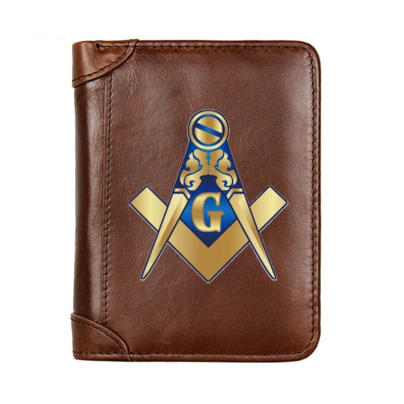 Короткий кошелек из натуральной кожи с логотипом манезона, Мужской многофункциональный кошелек из воловьей кожи с карманом для монет, фото