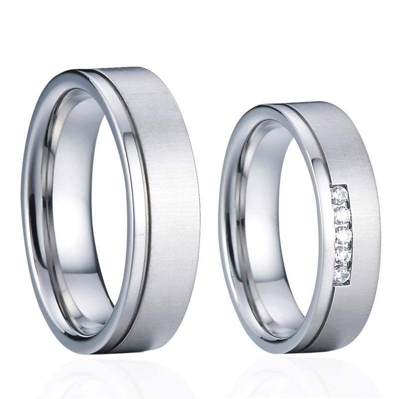 Anillos de boda para promesa de boda de compromiso de joyería de...