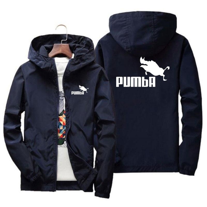 Мужская спортивная куртка-бомбер с капюшоном, тонкая ветровка на молнии, велосипедная уличная приталенная куртка-бомбер, блейзер размером ...
