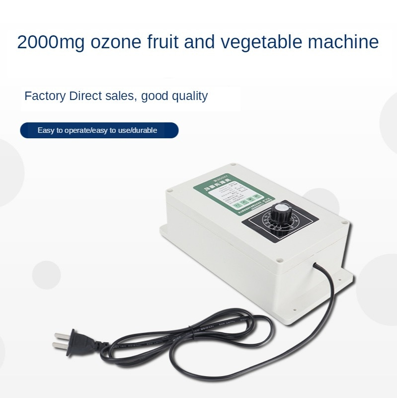 2000 мг генератор озона 8 литров таймер для мытья посуды Дезинфекция машина вода фрукты овощи дезинтоксикационная машина аквариум