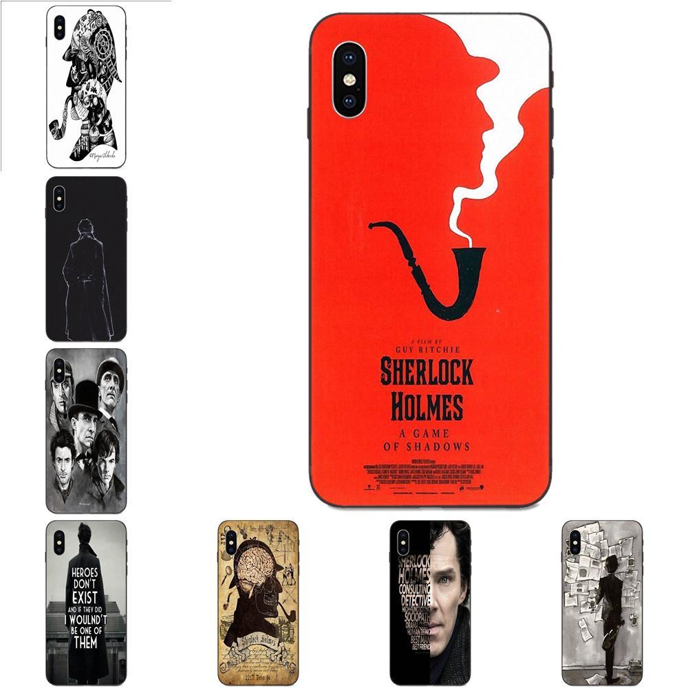 Aburrido Sherlock Holmes Pop Tv mostrar Ed para Galaxy A3 A5 A6 A6s A7 A8 A9 A10 A20E A30 A40 A50 A60 A70 A80 A90 Plus 2018