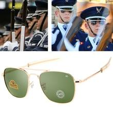 2021 New AO 8054military fashion army to pilot 52mm sunglasses brand American lens optical glass sun