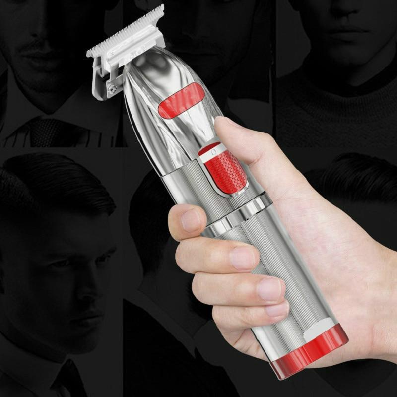2021 New Professional Hair Clipper For Men , Beard Trimmer Barber 0.1mm Baldhead Clippers Hair Cutting Machine Cut T Blade Trimm enlarge