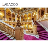 laeacco royal nobility gorgeous palace stairs interior scene photography backdrop photographic background for photo studio