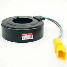 Compresor de aire acondicionado 6V12 AC A/C, bobina magnética de embrague electromagnético para Sanden SD6V12 para Peugeot 307 206 96*64*45*32MM