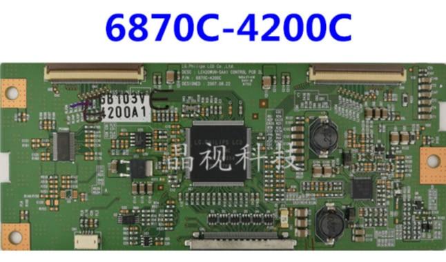 Prueba de 100% original para LG 42XV500C 6870C-4200C LC420WUN-SAA1 de pantalla LC470WUN placa lógica
