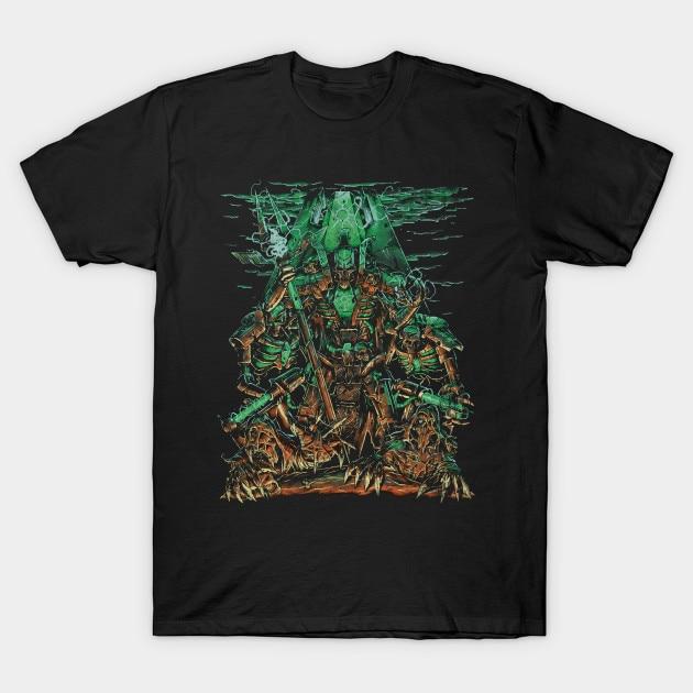 Men T-Shirt Necron Lord Tshirt Women T Shirt