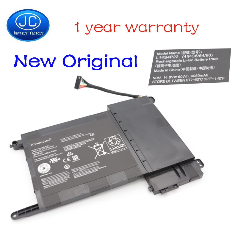 JC L14S4P22 جديد الأصلي بطارية الكمبيوتر المحمول لينوفو IdeaPad Y700 Y700-17iSK Y700-15ISK 5B10H22084 L14M4P23 14.8 فولت 60wh 4050mAh