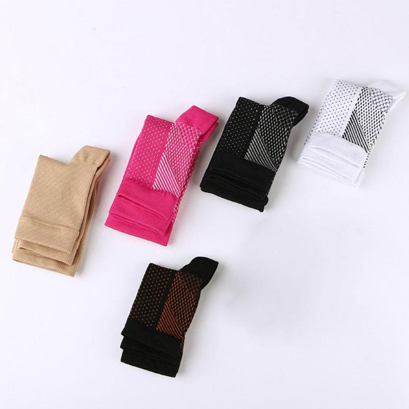 Compression socks Foot Sleeve Ankle Support Running Cycle Basketball Sport Socks Foot Anti Fatigue Outdoor Men Ankle Brace Sock enlarge