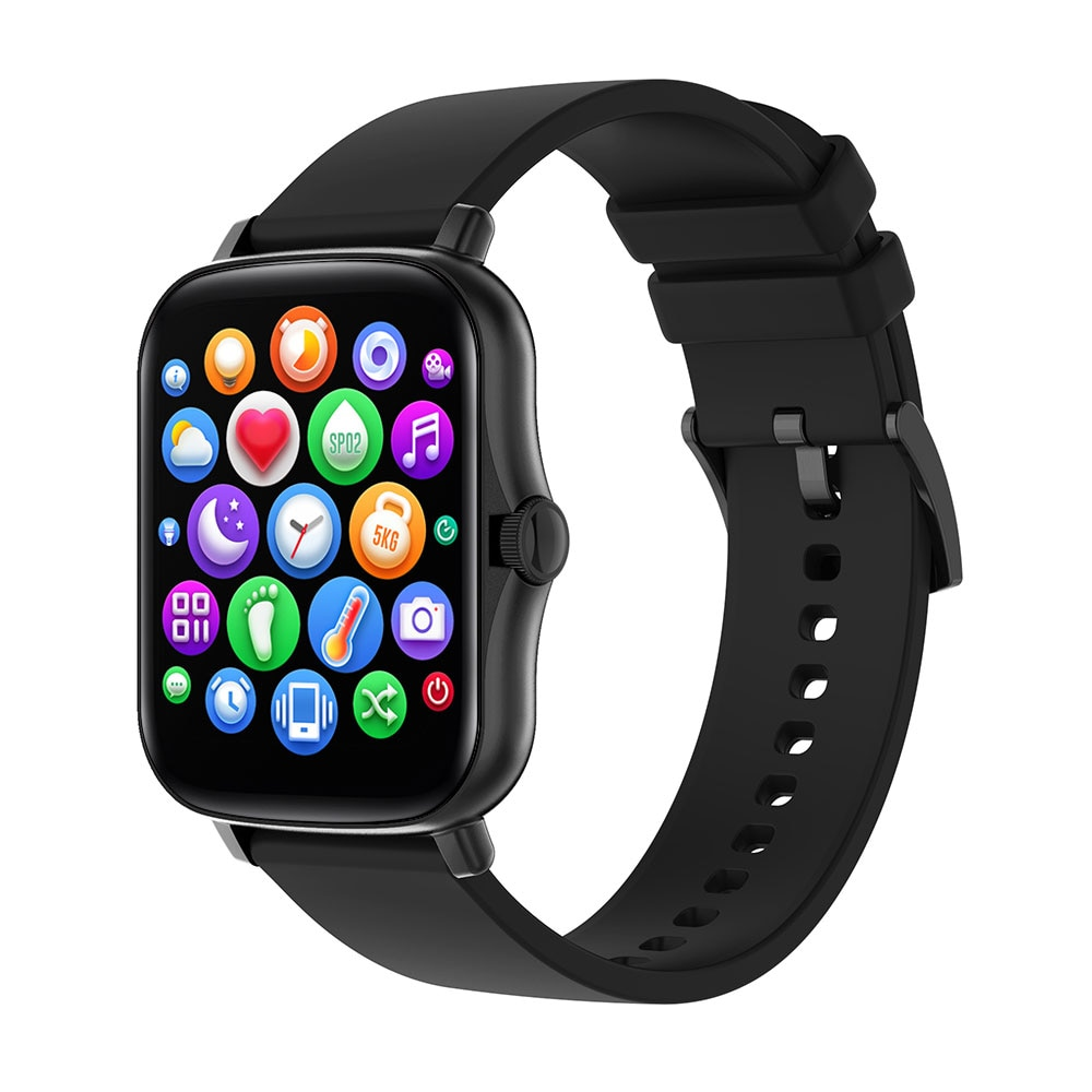 Y20 Smart Watch Man Women PK P8 Plus Smart Watches Fitness Tracker Relogio Inteligente Smart Watch Square 1.7Inches Full Touch