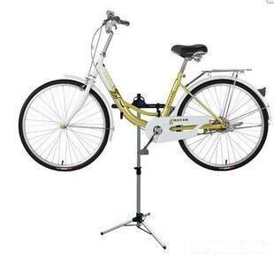 Регулируемая складная стойка для велосипеда, подставка для ремонта велосипеда, профессиональный алюминиевый сплав, инструменты для ремонт...
