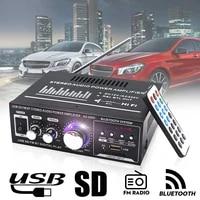 Amplificateur HiFi Bluetooth 400W stereo Surround cinema  haut-parleurs sans perte  caisson de basses  processeur Audio numerique  ampli pour maison et voiture