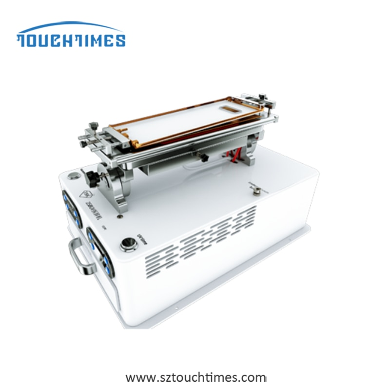 TBK-258UV Multifunction 5 in 1 LCD Screen Cover Separator Machine Frame Separating Glue Remover With UV Cring Lamp Phone Repair enlarge