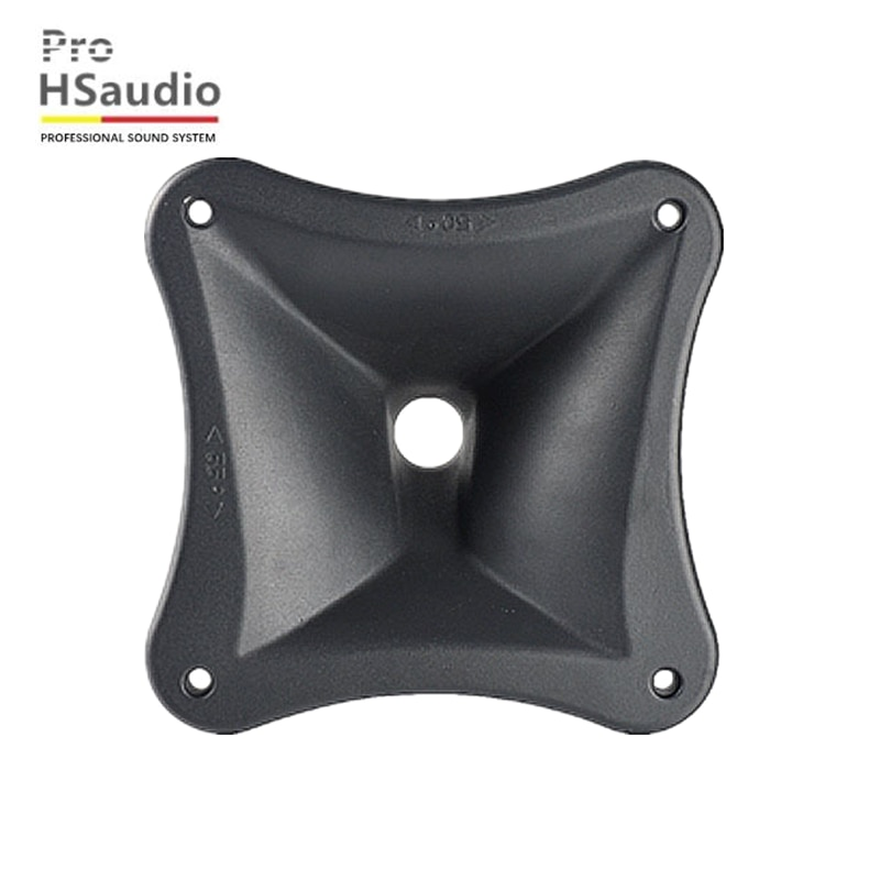 ProHSaudio HS 8503 Professional Speaker For Compression Driver 204L*204W*125H Square Full-Frequency Aluminum Horn enlarge