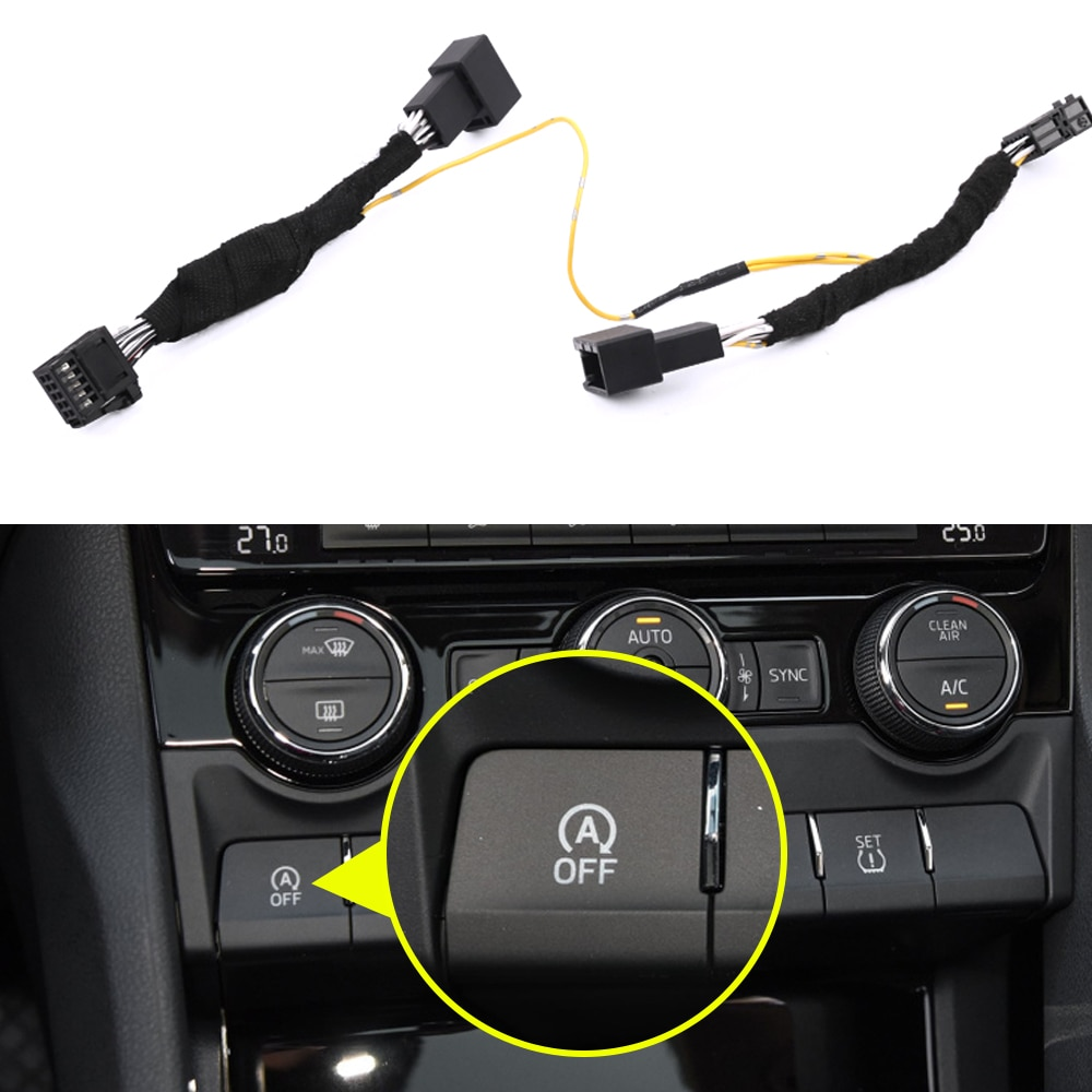 For Skoda Kodiaq 2016-2020 Car Automatic Stop Start Engine System Off Device Intelligent Sensor Plug Smart Stop Cancel
