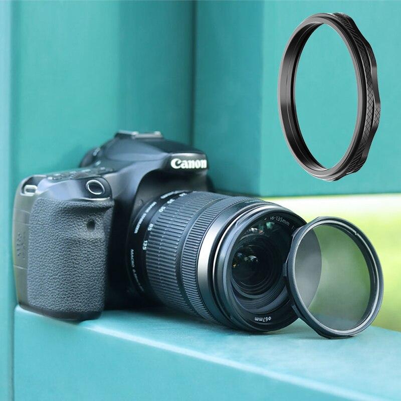 Anillo adaptador de filtro magnético para cámara UURig SLR 67/72/77/87MM Filtro de lente adaptador de interruptor rápido soporte para Canon Nikon Sony