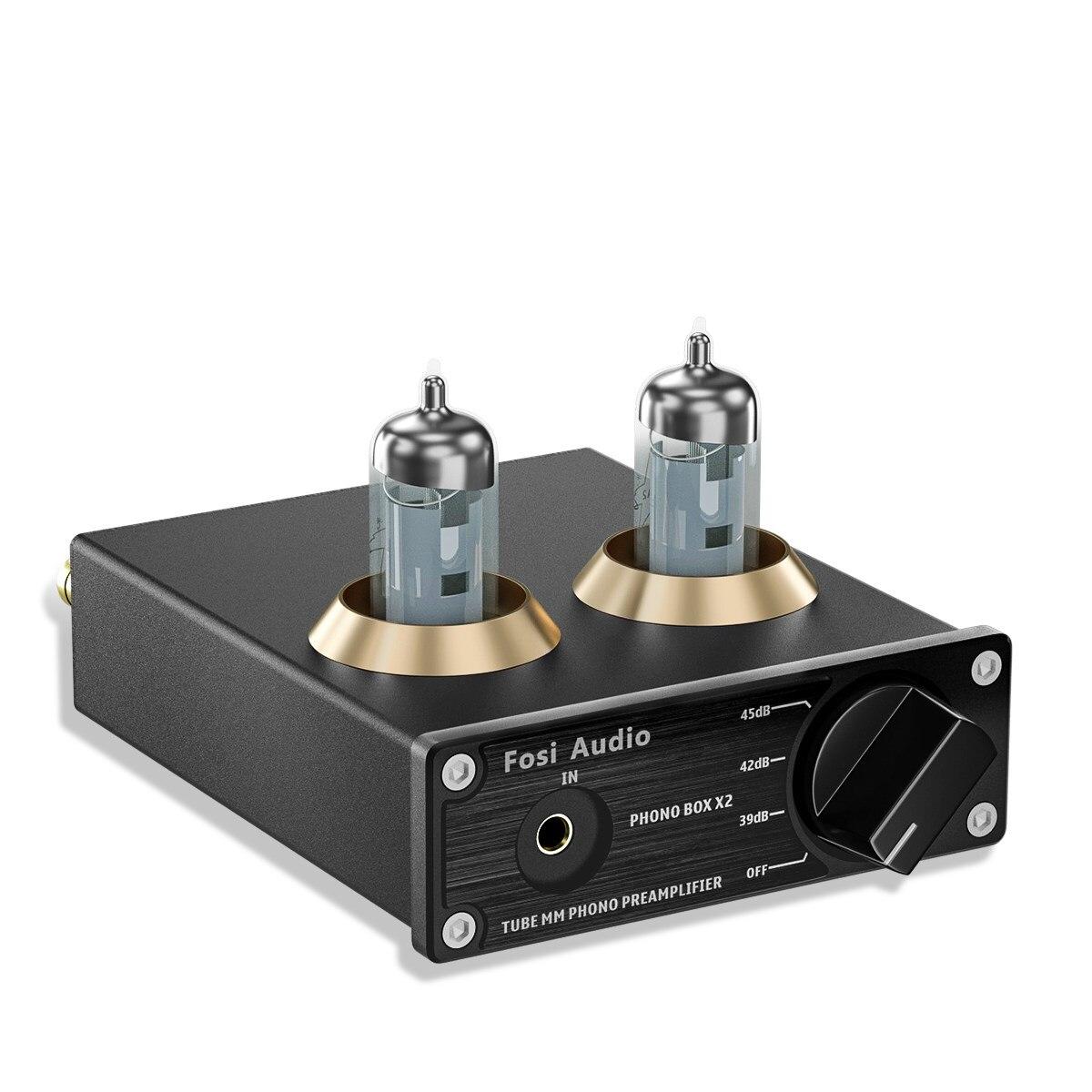 مُضخّم صوت فوسي صوتي فونوغراف فونو بريمب لصوت ستيريو صغير قابل للدوران HiFi مُضخّم صوت فارغ مع 5654