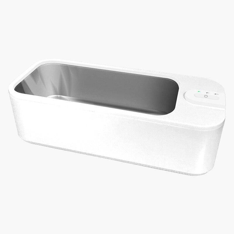 منظف بالموجات فوق الصوتية 0.68 لتر ، 24 واط ، تحكم ذكي للمجوهرات ، النظارات ، آلة تنظيف الأسنان ، حمام تنظيف صغير سونيك