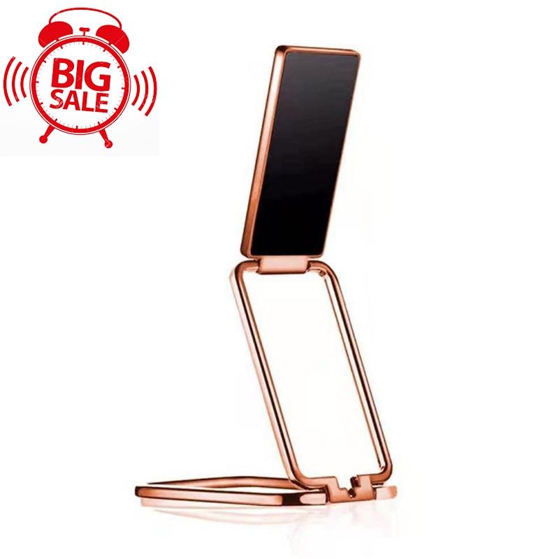 Foldable Mobile Phone Holder Ring Buckle Retractable Desktop Mobile Phone Holder Car Magnetic Metal