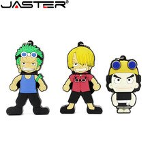 JASTER Cartoon anime One Piece Model memory stick usb flash disk 2.0 4GB 8GB 16GB 32GB USB External storage Fashion U disk gift