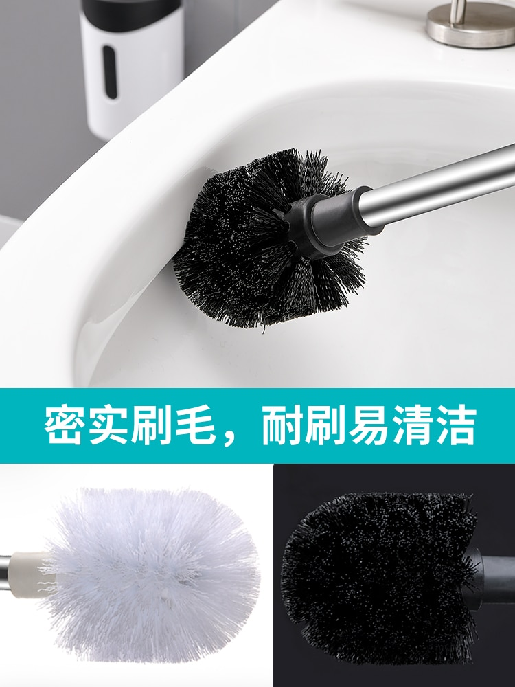 Long Handle Toilet Brush Stainless Steel Durable Useful Wall Mounted Toilet Brush No Dead Corners Tocador Cleaning Tools DK50TB enlarge