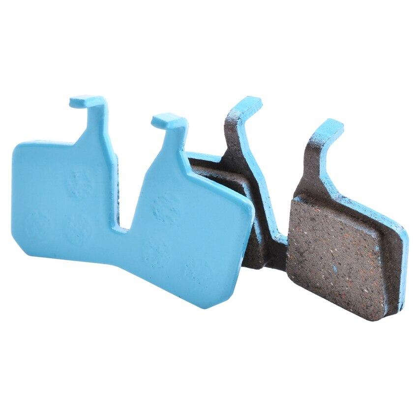 Pastilhas de freio da bicicleta da cerâmica para o freio hidráulico do disco de magura mt5 mt7, 4 pares, classe ex do esporte, cor azul