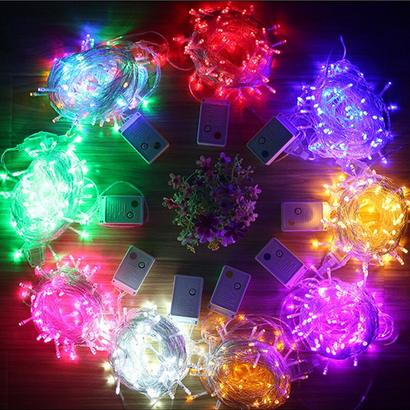 10M Christmas Light LED Fairy String Lights Copper Wire String Light For Wedding Xmas Garlands  Waterproof  Party Decor 220V zdm 10m usb copper wire waterproof led string light 100 leds for festival christmas party decoration dc5v