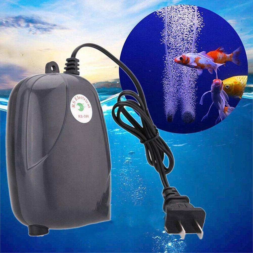 Saída Silenciosa Bomba de Ar para Aquário Aquário pequeno 2 Accessaries