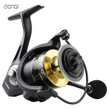 DONQL haute qualité 5 1 BB Double bobine moulinet de pêche 5.01 rapport de vitesse haute vitesse moulinet de pêche carpe moulinets pour leau salée