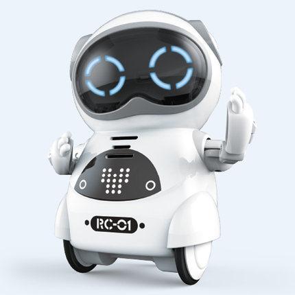 RC HOBBY 939A Карманный радиоуправляемый робот говорящий интерактивный диалог распознавание голоса Запись пение танцы рассказывающая история Р...