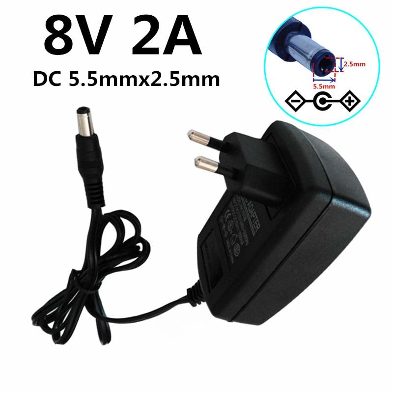 Eu Us Au Uk Plug Dc 8v 2a Ac Dc Adapters Switching Power Supplies Plug Convert Ac 100v 240v To Dc 8v 2000ma Power Supply Adaptor Ac Dc Adapters Aliexpress