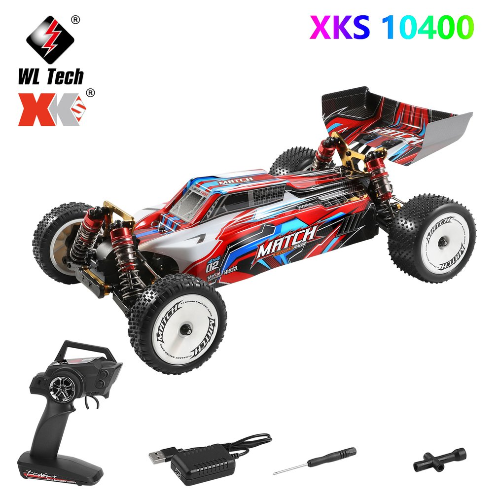New 104001 Rc Car 45km/H 1:10 Scale 4WD Drive Off-Road 2.4G Radio Control Remote Car Kids Electric RC  Cars Toys Vehicle 2018 new zd racing rc car tx 16 1 16 4wd driver off road cars rtr with 2 4g 3ch remote control car for children kids gift toys