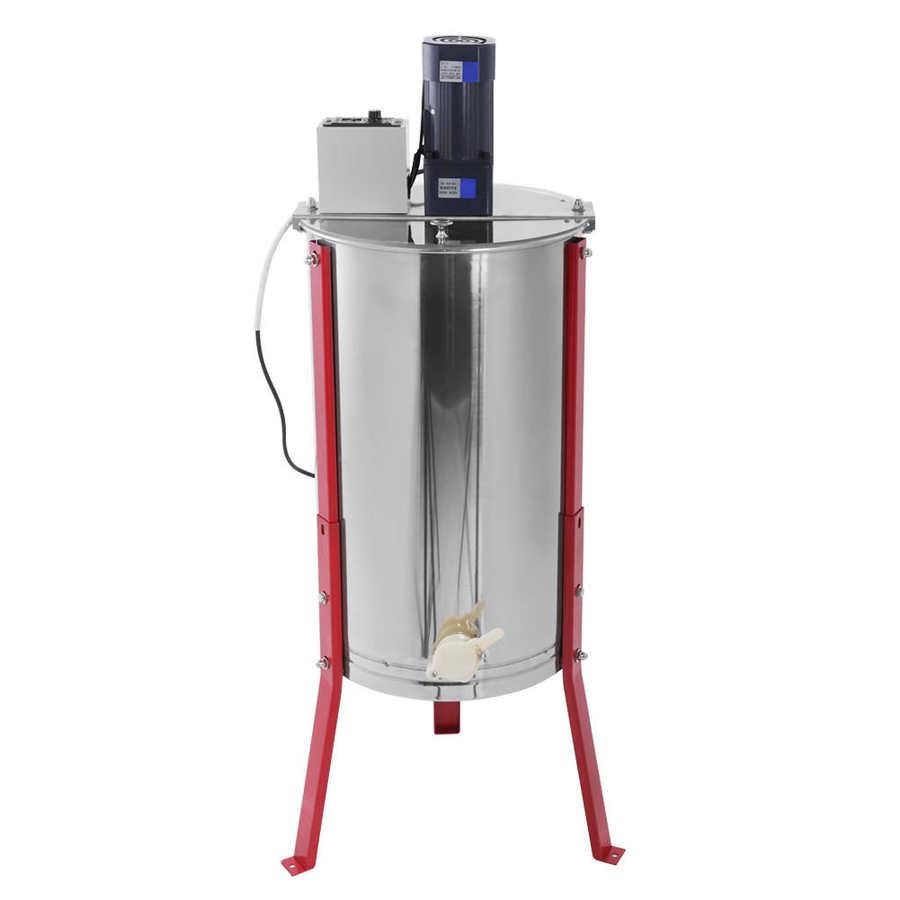 2/3/4 cadre extracteur de miel 2 cadre plastique/acier inoxydable extracteur 3 cadre électrique miel Spinner 4 cadres séparateur manuel