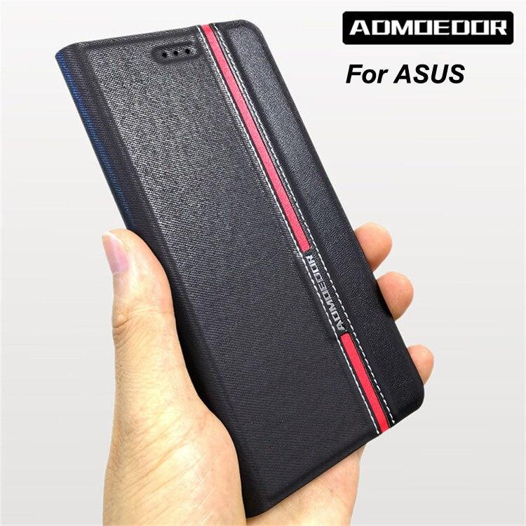 Чехол для Asus Zenfone 5 5z 4 Max ze554kl ze520kl ze552kl za550kl zc554kl zc520kl zc600kl ze620kl zs620kl кожаный чехол с откидной крышкой
