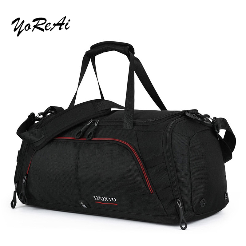 YoReAi Nylon Traveling Shoes Bag Unisex Large Capacity Bag Luggage Women WaterProof Handbags Men Travel Bags Male Female Duffle weiju new casual travel bags men large capacity handbag luggage travel duffle bag nylon shoulder bag simple traveling bags