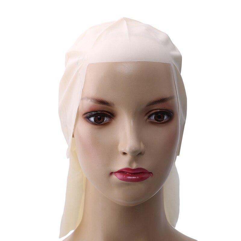 Movie Party Dress Skinhead Wig Cap Hot SaleHigh Quality 30cm Width Funny Latex Skin Fake Bald Head Unisex Fancy