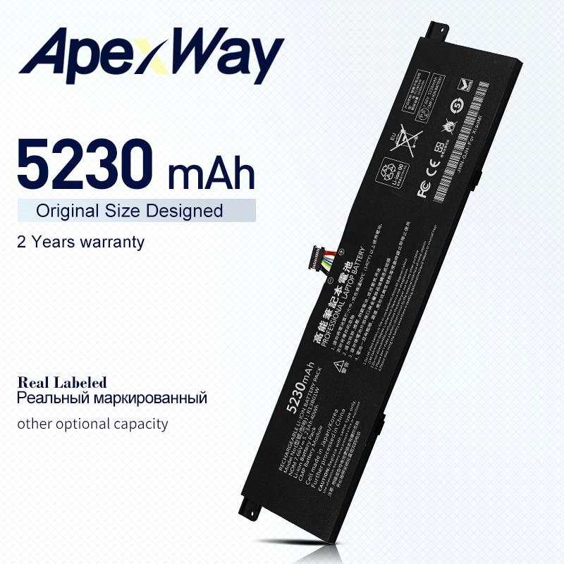 ApexWay-بطارية كمبيوتر محمول 7.66 فولت ، R13B01W R13B02W ، لسلسلة Xiaomi Mi Air 13.3 بوصة ، 5230 مللي أمبير/40 واط ، للكمبيوتر اللوحي
