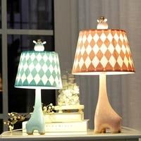 giraffe table lamp childrens room cartoon bedroom bedside table lamp modern cute lamp e27 bed room decoration