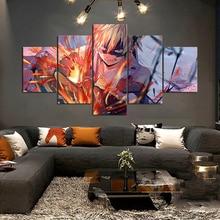 Imprime peinture murale oeuvre mon héros académique modulaire toile affiche dessin animé Figure image moderne décor à la maison chevet fond