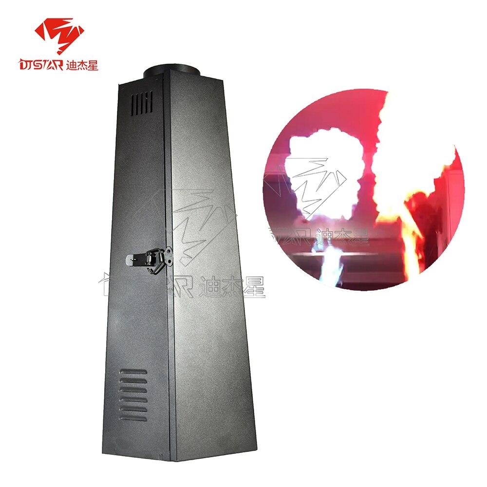 DMX Flame Jet Machine 200W Fire Spray Thrower 1 Channel DJ Wedding Stage Effect Equipment Theater Party DJSTAR