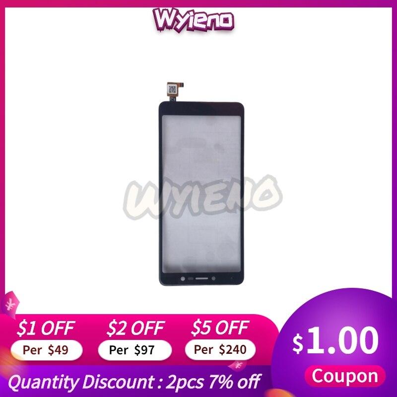 Wyieno 100% probado para BQ Mobile BQ5520L seda LCD pantalla no Sensor Panel