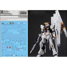 DL Aufkleber Wasser Rutsche Aufkleber Aufkleber für Bandai RG 1/144 RX-93 Nu Gundam Gunpla Modell Kit
